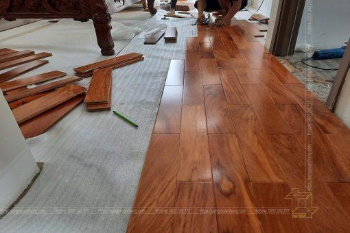Sàn gỗ Gõ đỏ Quận 2