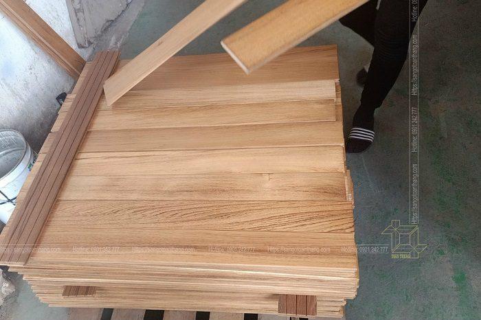 Sàn gỗ Teak Myanmar quý từng đường vân