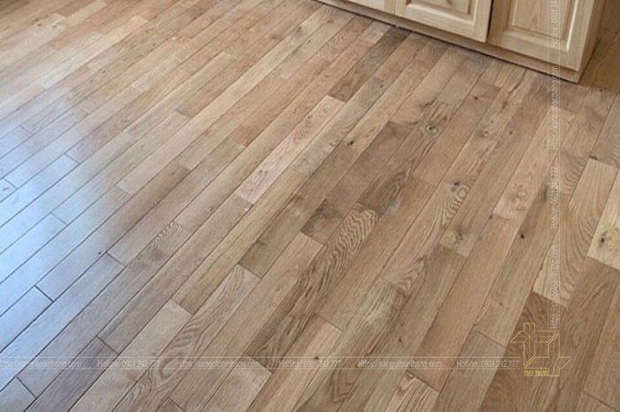 sàn gỗ sồi nhà bè