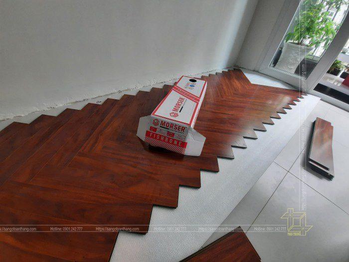 Sàn gỗ Morser hèm xương mới cho ra mắt thị trường 1 năm