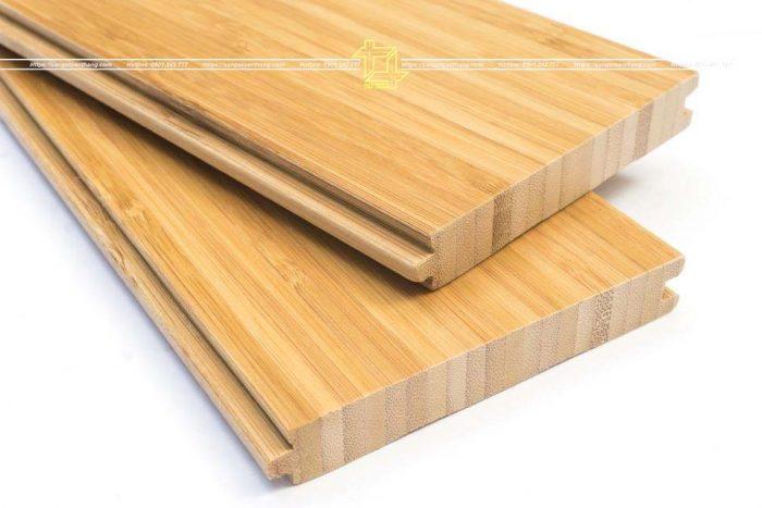 Cấu tạo sàn tre ép nan nghiêng