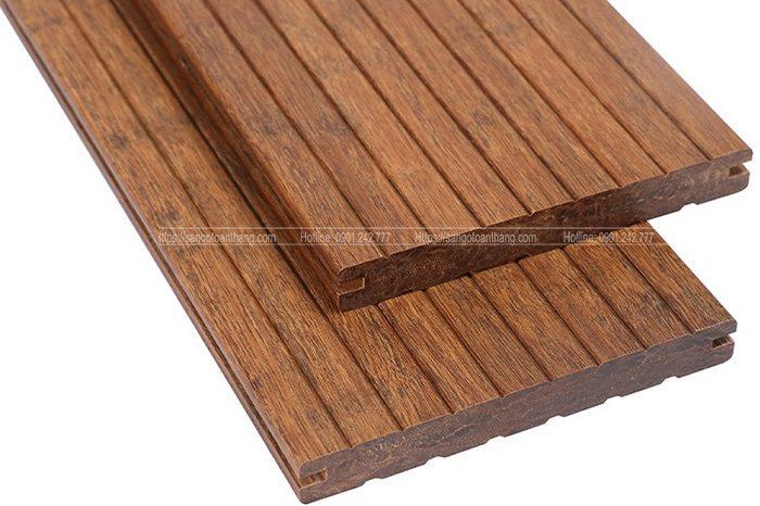 Sàn tre ngoài trời được sản xuất rất chắc chắn