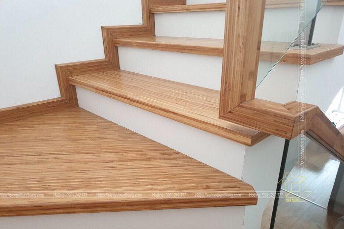 Mặt bậc cầu thang Tre ép khối