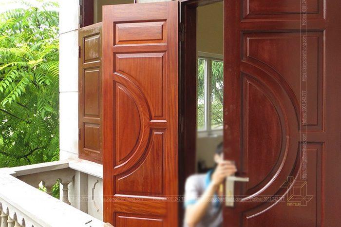 Cửa gỗ Lim ngày càng được sử dụng rộng rãi