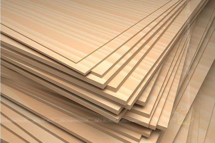 Ván Plywood hiện nay rất thông dụng