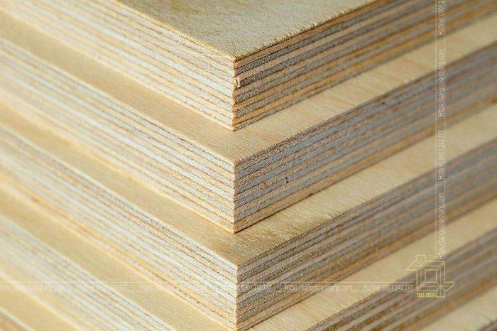Ván Plywood có độ bền rất cao