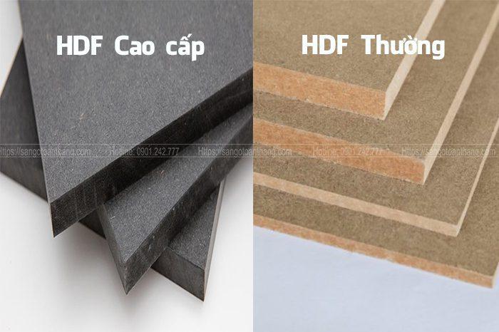 Ván gỗ HDF khá khác biệt với các loại khác
