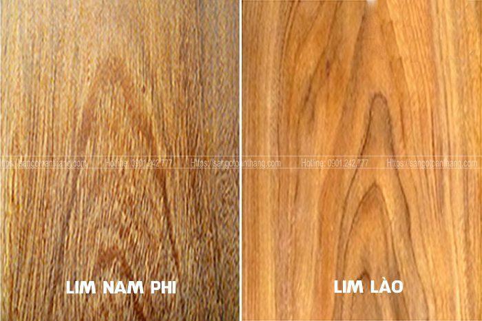 Tôm gỗ Lim Nam phi sẽ thô và lớn hơn
