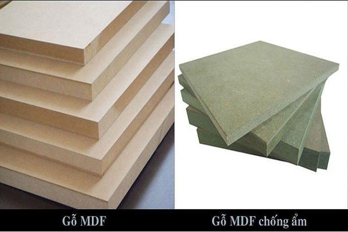 Phân biệt qua màu sắc để phân biệt các loại gỗ MDF