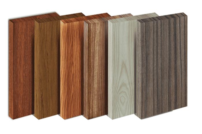 Màu sắc vân gỗ phong phú khi lựa chọn nhựa Picomat