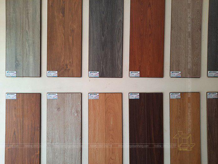 Thương hiệu Sàn gỗ Glomax có màu sắc rất phong phú