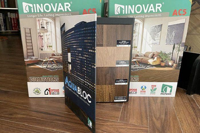 Sàn gỗ công nghiệp Inovar nhập khẩu Malaysia