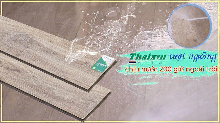 Sàn gỗ công nghiệp Thaixin là dòng sản phẩm của tập đoàn Vanachai