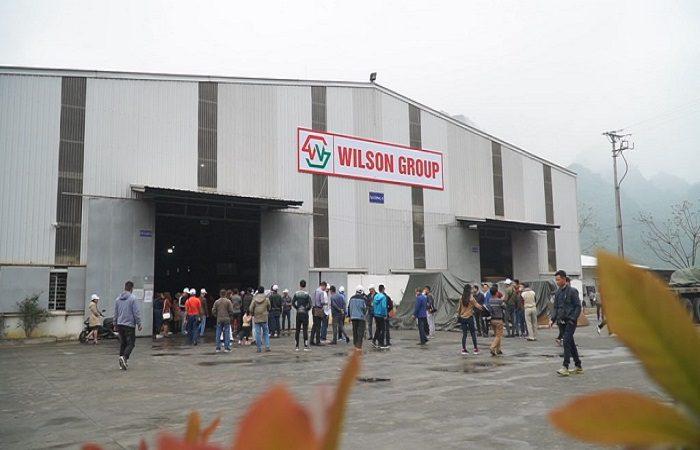 Nhà máy Wilson với quy mô rất lớn