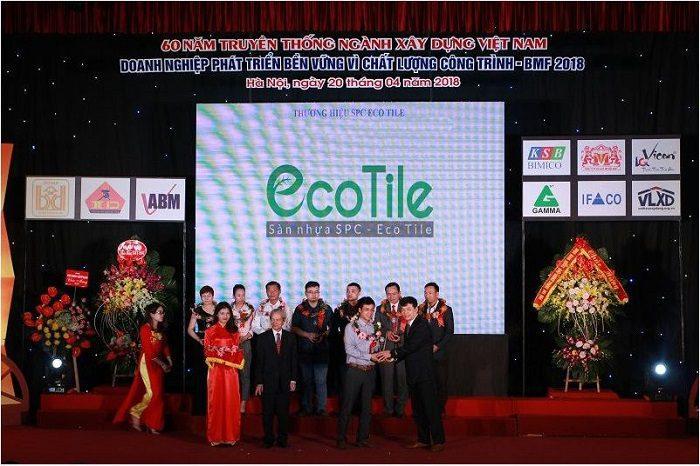 Lễ vinh danh thương hiệu Ecotile
