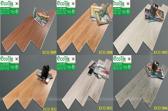 Sàn nhựa Ecotile đã chứng minh chất lượng Sàn nhựa Hàn Quốc hàng đầu nhiều năm nay