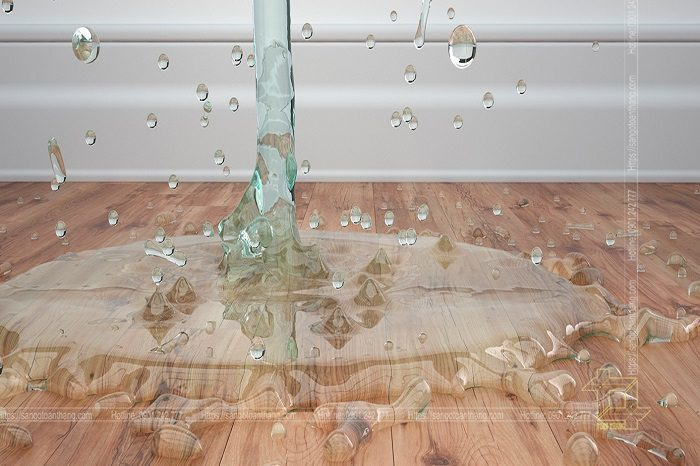 Sàn gỗ khu vực bếp hiện nay không còn là nỗi ám ảnh cho người tiêu dùng