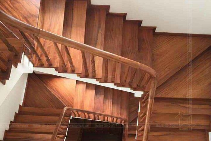 Cầu thang gỗ Lim Nam Phi hiện nay được tin dùng tuyệt đối
