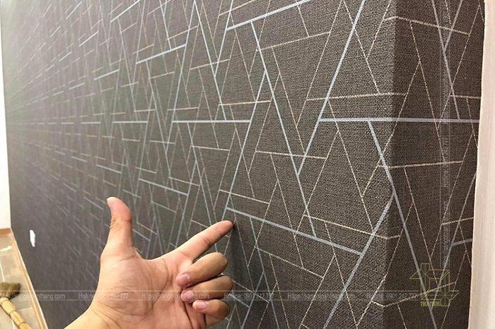 Họa tiết giấy dán tường hiện nay được sản xuất rất sắc nét