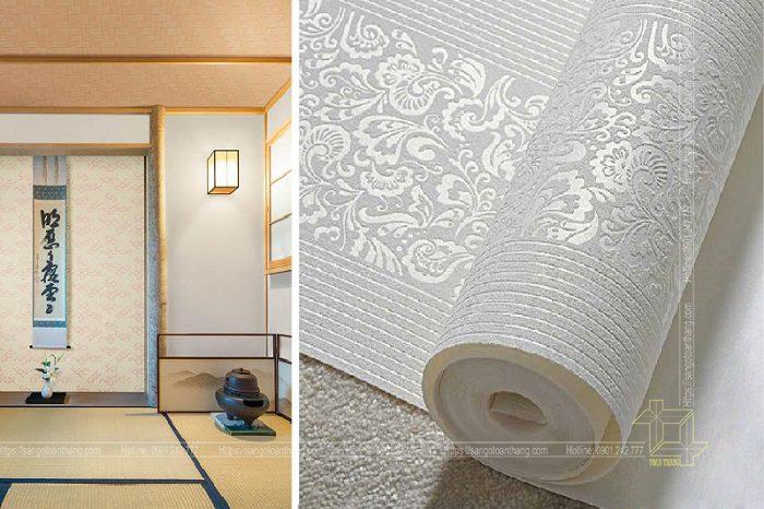 Giấy dán tường được nhập khẩu từ Nhật Bản
