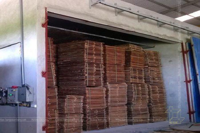 Quá trình tẩm sấy gỗ tự nhiên tại lò hơi