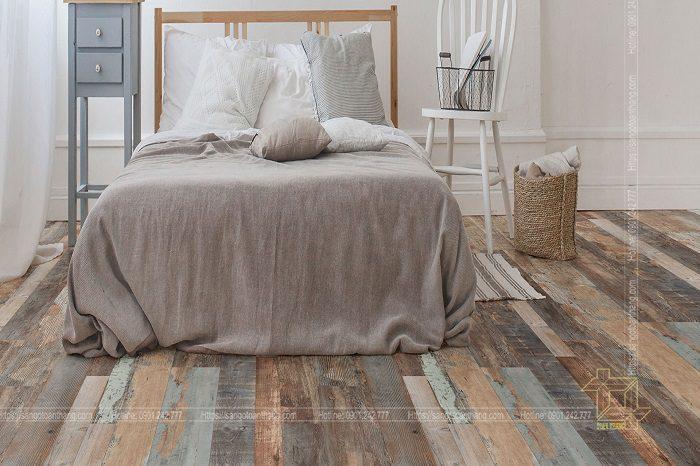 Bề mặt vân 3D của sàn gỗ Atroguard rất sống động