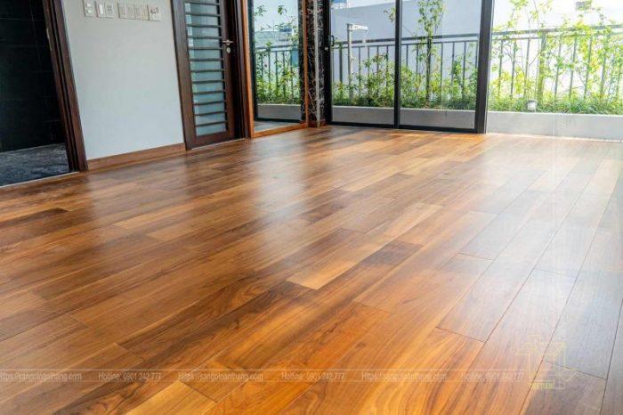 Sàn gỗ Óc chó Kỹ Thuật (Walnut Engineer) đẹp và sắc sảo