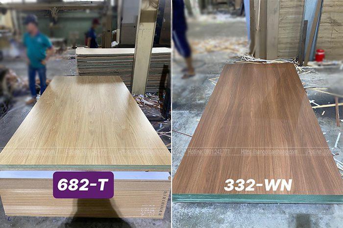 Vân gỗ Malamine hiện nay rất phong phú, quyết định đến độ thẩm mỹ của sàn gỗ công nghiệp