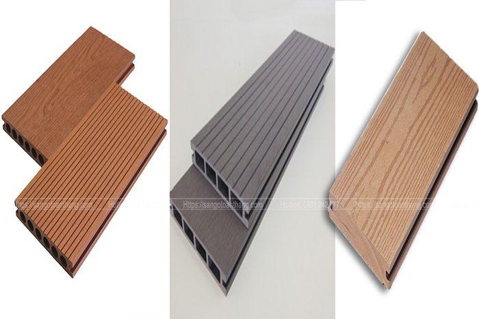 3 loại thanh sàn nhựa Composite phổ biến hiện nay