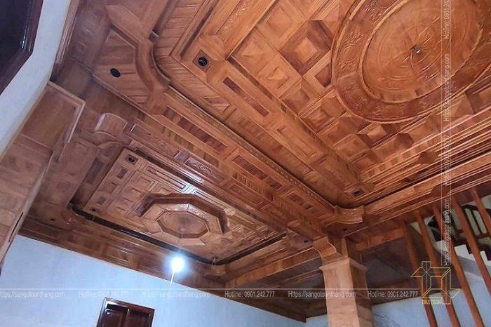 Mẫu trần gỗ tự nhiên số 11