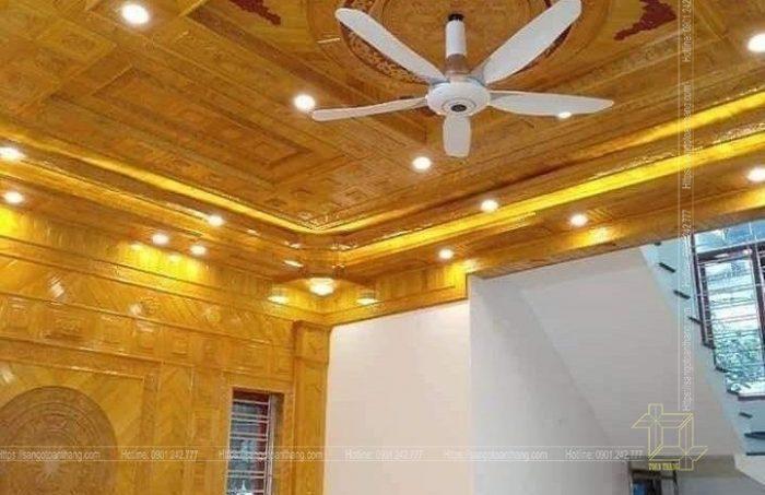 Mẫu trần gỗ tự nhiên số 13