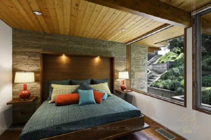 Mẫu trần gỗ tự nhiên số 21