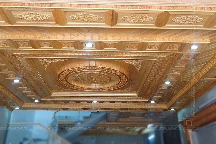 Mẫu trần gỗ tự nhiên số 05
